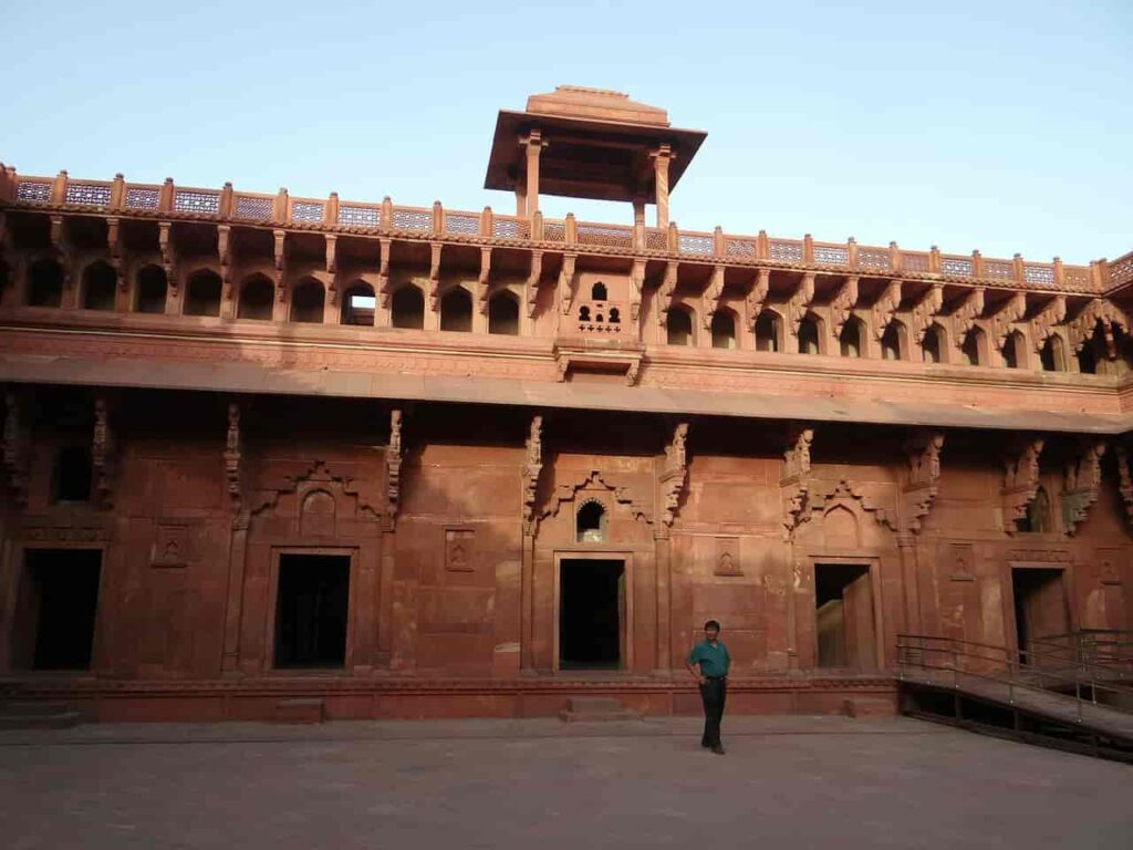 Agra-fort-castle-palace