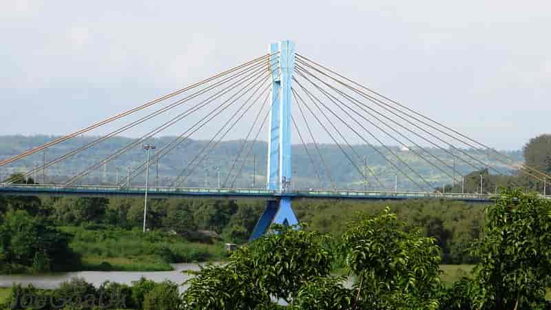 Aldona-Corjeum Cable-Stayed Bridge Goa