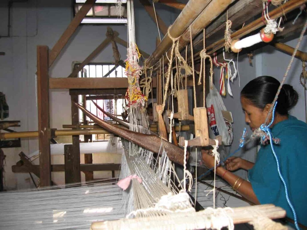 Assamese-villages-are-a-hub-for-weaving-shawls-and-saris