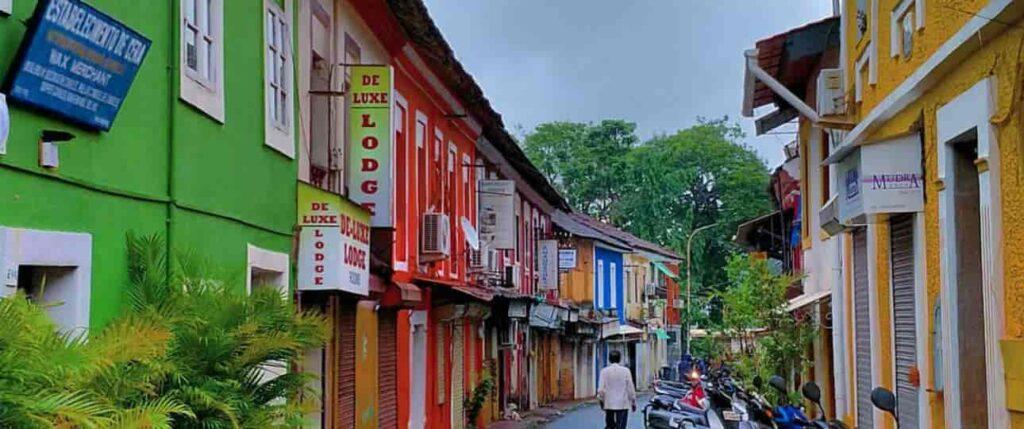 Fontainhas the heritage capital of the Goa