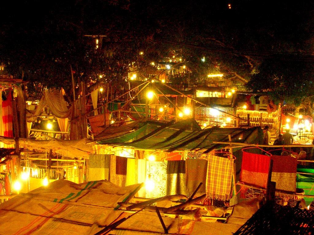Nighttime-Bazaars-Panji-Goa