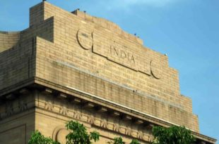 India gate Delhi, Golden Triangle of India