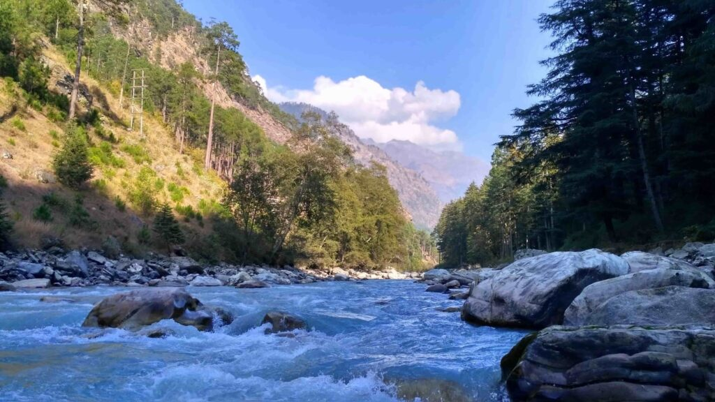 Kasol Parvati Valley River Mountain