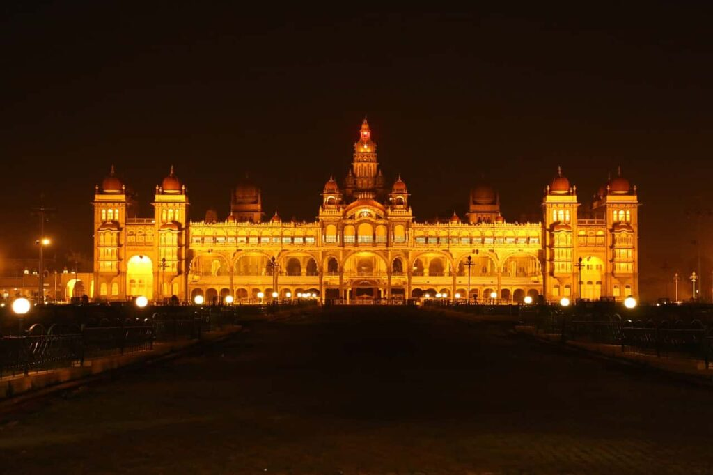 Mysore-Palace-Places in India