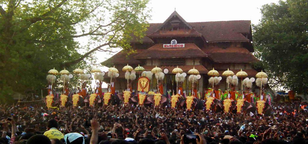 Thrissur-Pooram-Kerala