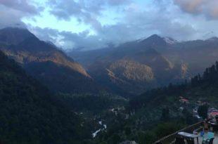 beautiful view of Kasol And Manikaran