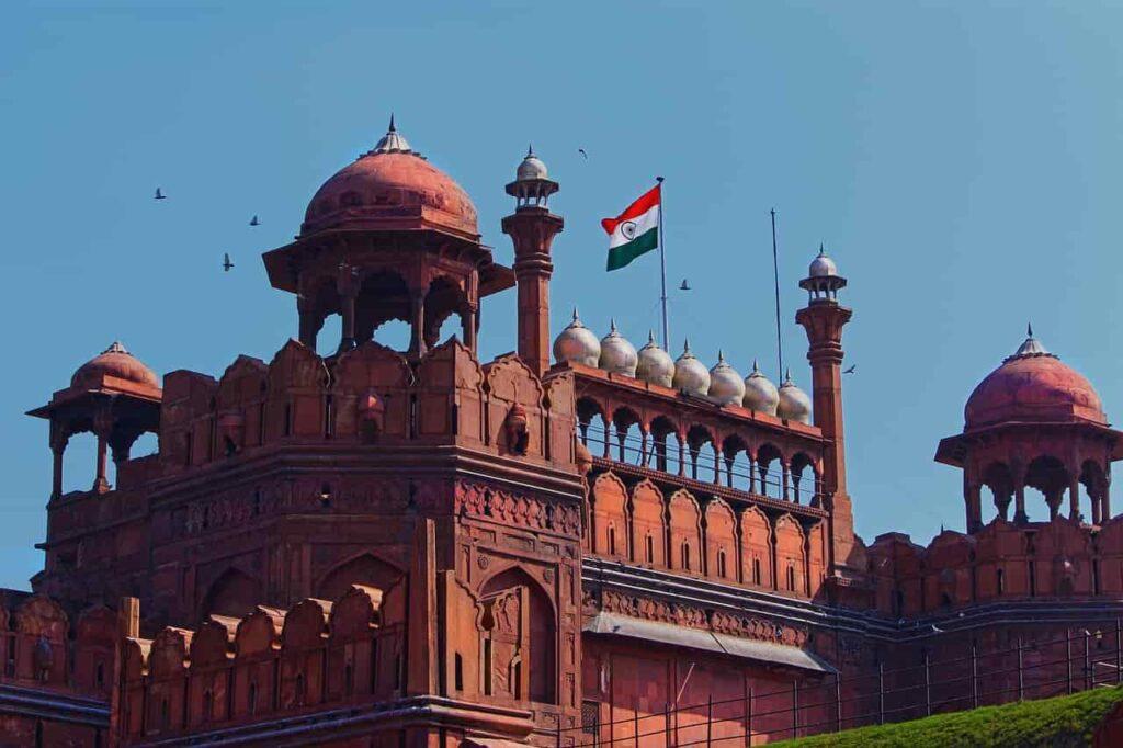 red-fort-delhi-india