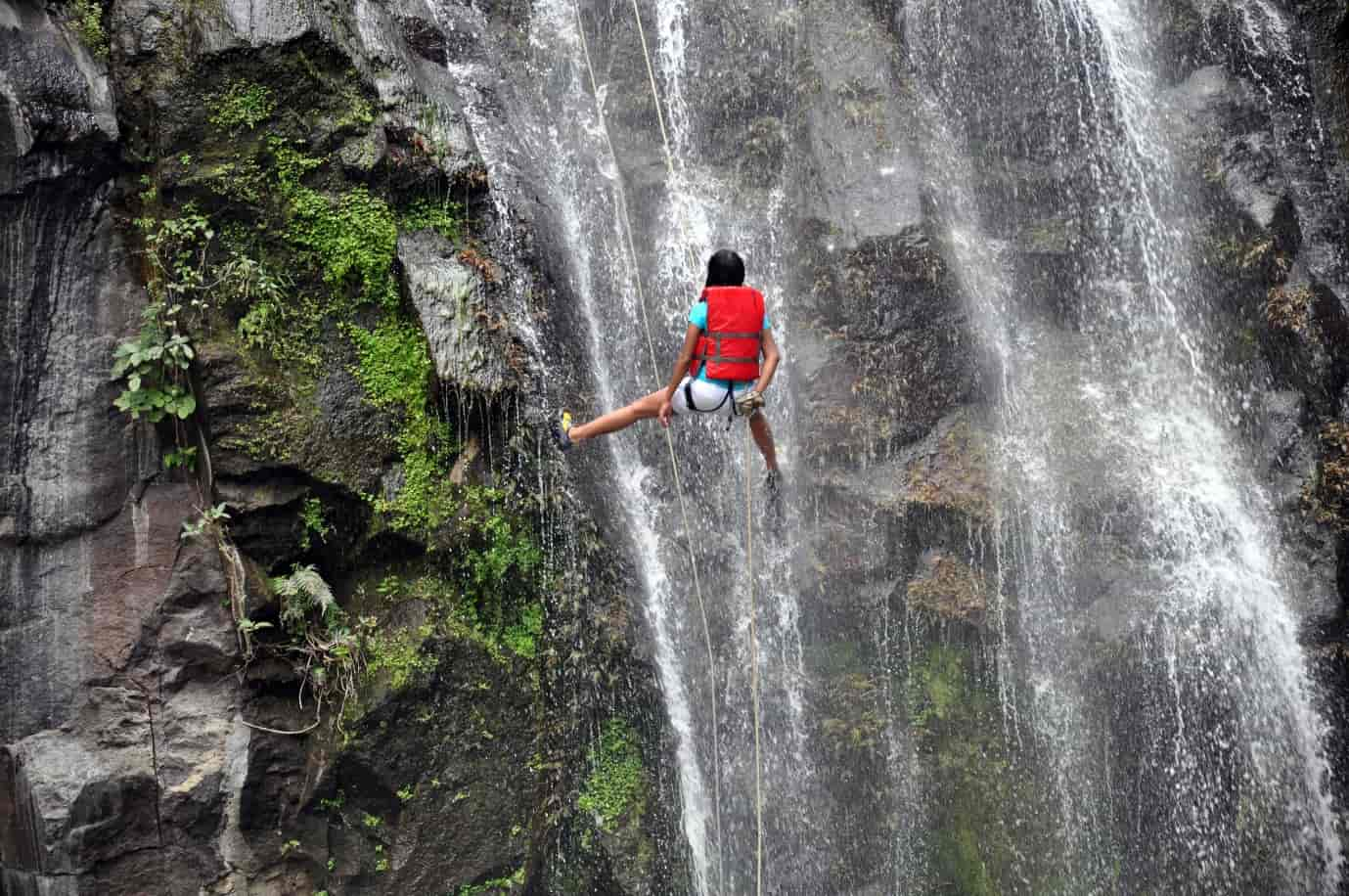 Chelavara-falls-rappelling-gives-you-an-opportunity-to-closely-admire-and-enjoy-the-waterfall