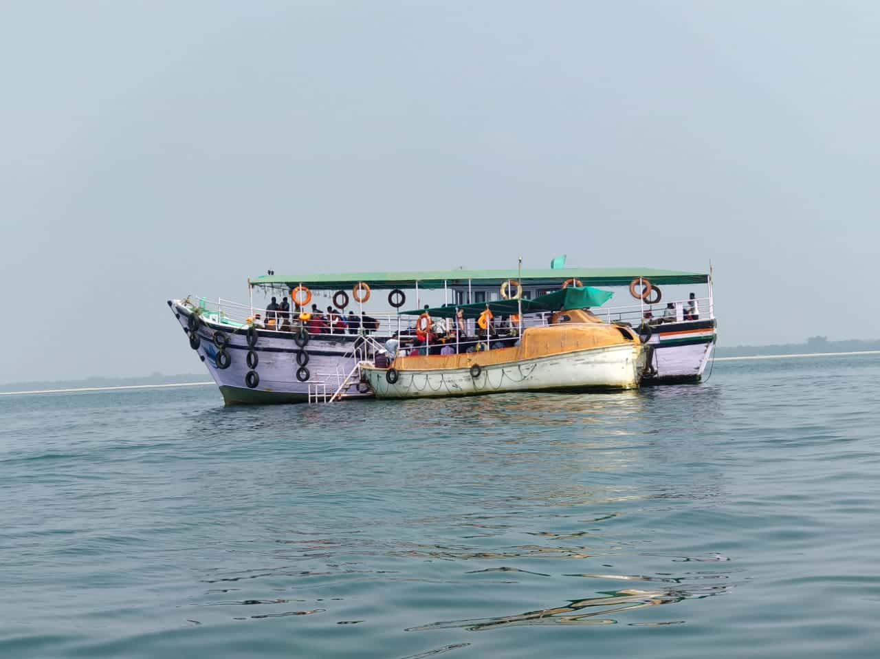 Ferry-service-is-quite-frequent-and-a-ferry-leaves-every-half-an-hour-for-the-St.-Mary's-Island
