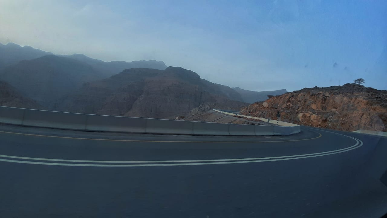 Jebel jais view point UAE