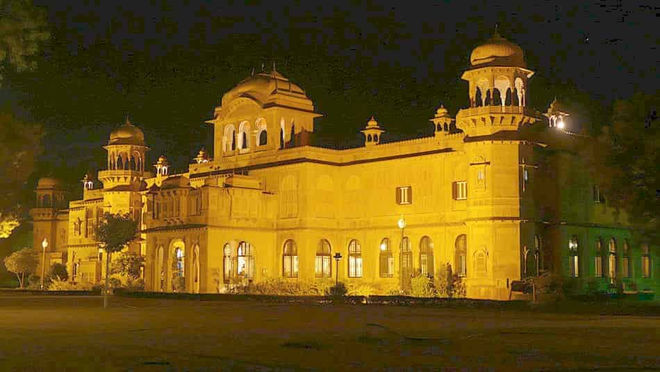 Maharaja Ganga Singh built the Lalgarh Palace in memory of his father in 1902