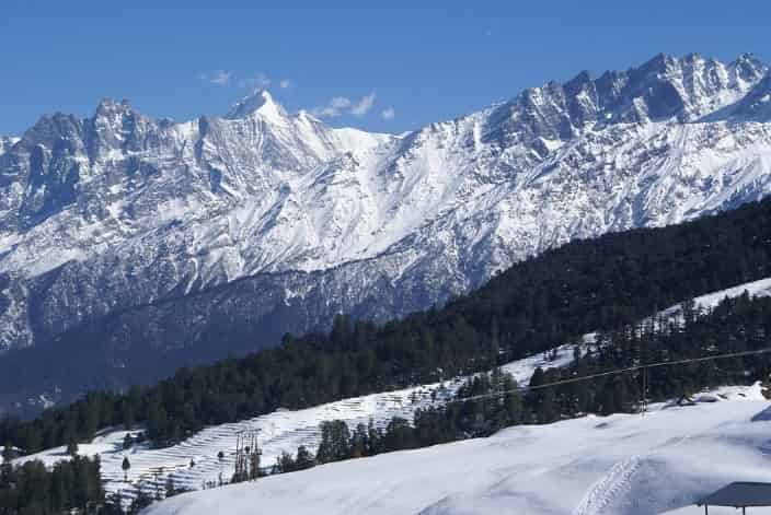 Auli is a popular skiing destination