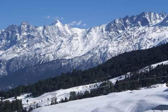 Auli is a popular skiing destination
