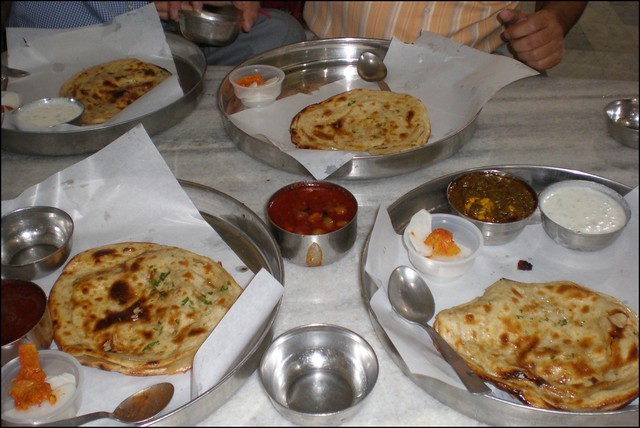 Kesar-Da-Dhaba-is-a-very-acclaimed-restaurant-in-the-city