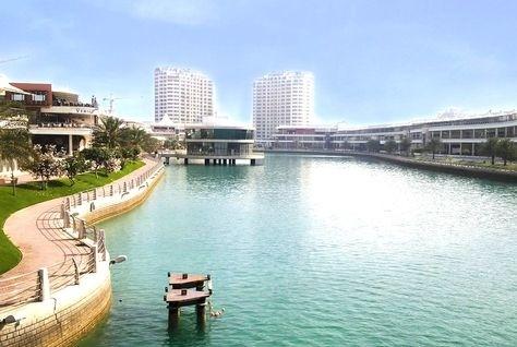 lagoon park near amwaj beach bahrain