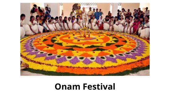 Onam is famous festival of Kerala culture