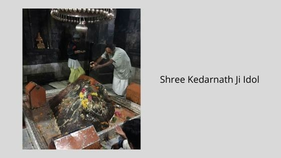 Shree Kedarnath Ji Idol