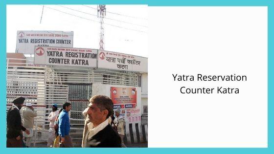 Yatra Reservation Counter Katra