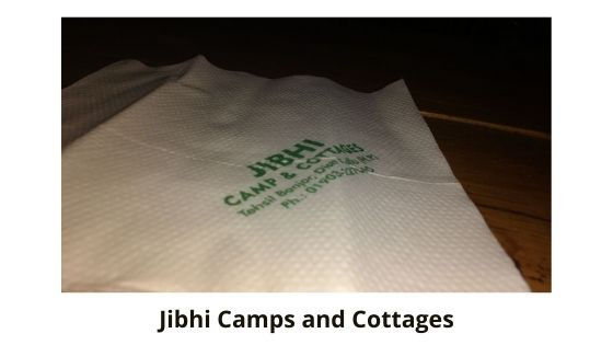 camps in jibhi Himachal Pradesh