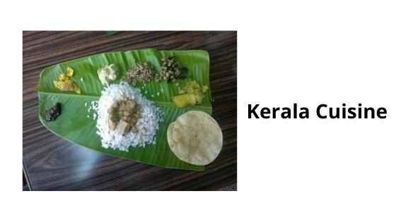 cuisine of kerala