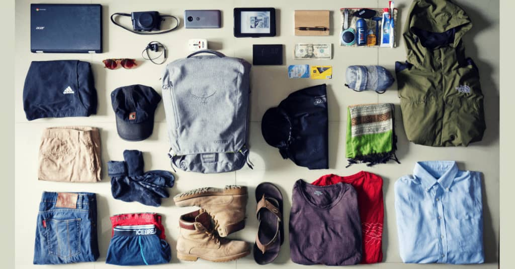 India Packing List Male Requirements