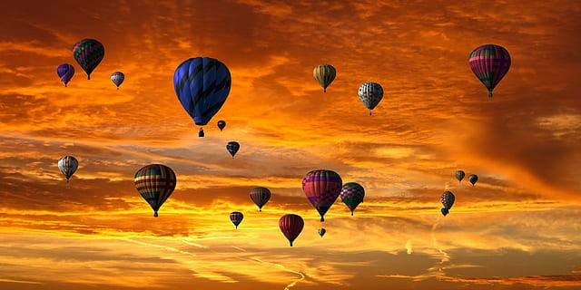 best place for hot air balloon rides in us