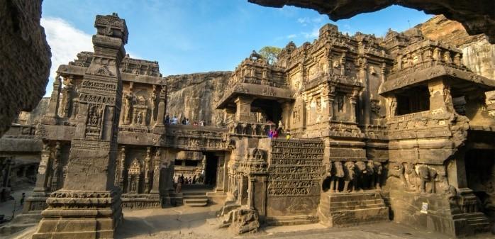 Ajanta Caves world heritage sites in maharashtra india