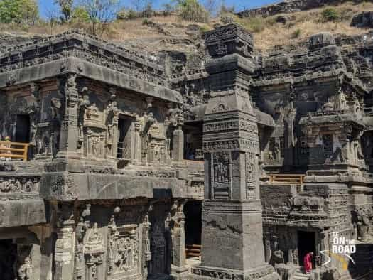 ellora_caves world heritage sites in maharashtra india
