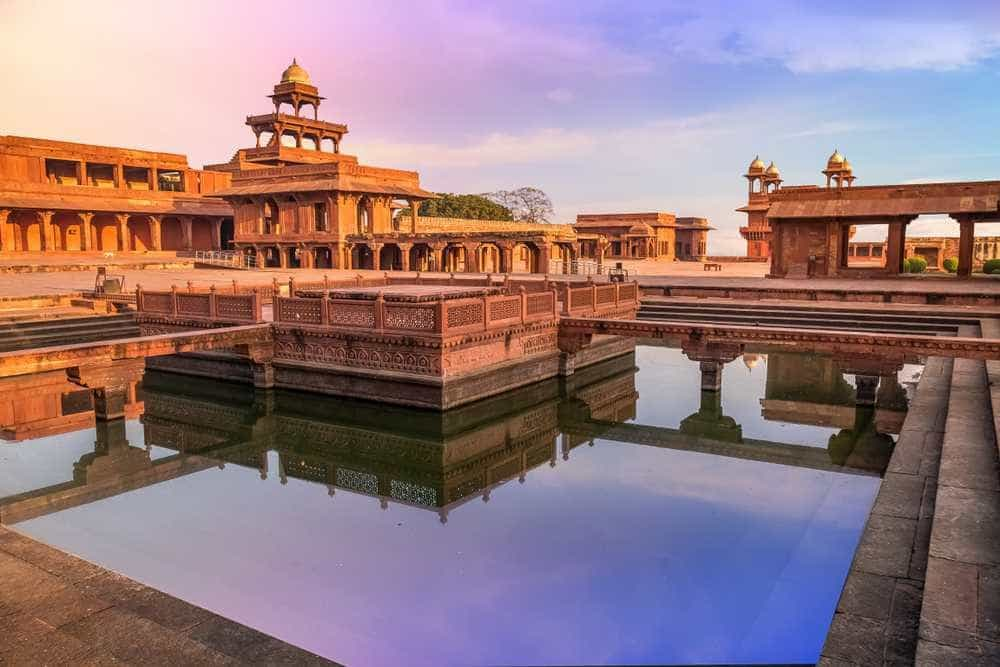 fatehpur_sikri world heritage sites in maharashtra india