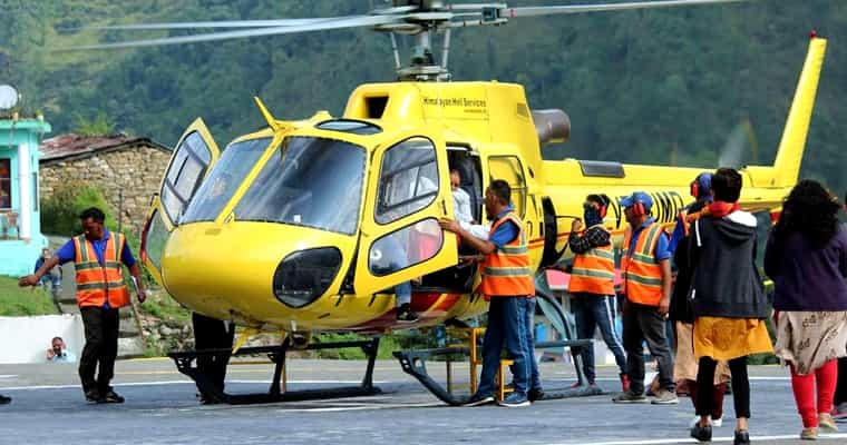 Sirsi Helipad - Chardham Yatra by Helicopter