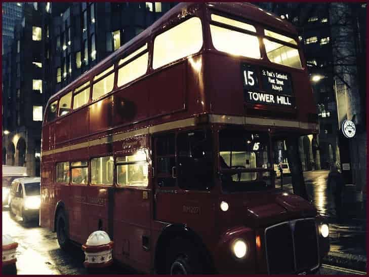 Bus Travel and the Trams in tfl journey planner