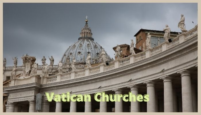 Vatican Churches Smallest City in the World